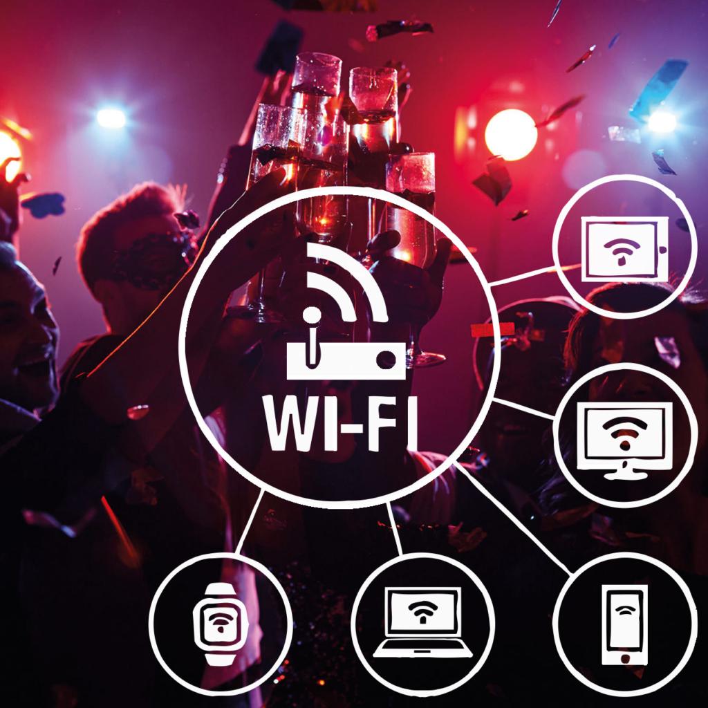Neomezeny přenosný lte internet na party